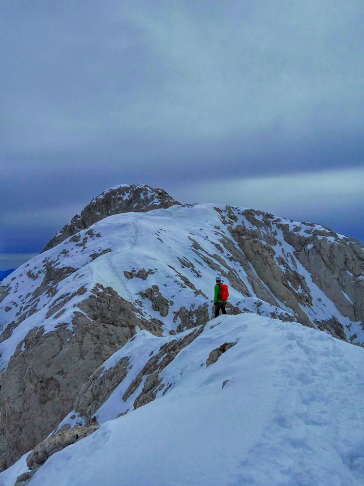 Subida invernal al Pedraforca